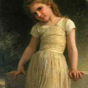 Bouguereau, William – The Mischievous One Oil Painting Reproductions