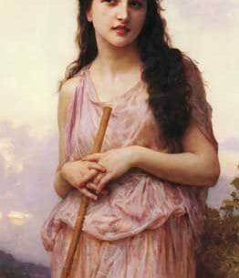Bouguereau, William – Waiting Oil Painting Reproductions