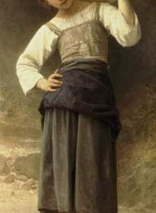 Bouguereau, William – Young Girl Going to the Spring