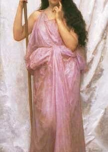 Bouguereau, William – Young Priestess Oil Painting Reproductions