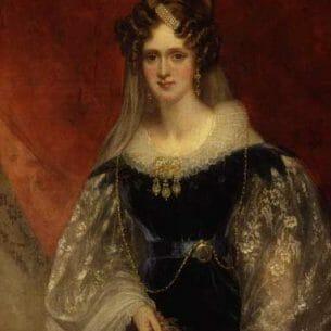 Adelaide Amelia Louisa Theresa Caroline of Saxe Coburg Meiningen -by Sir William Beechey