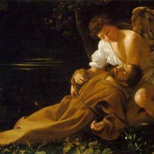 Caravaggio, Michelangelo Merisi da: Saint Francis in Ecstasy Oil Painting Reproductions