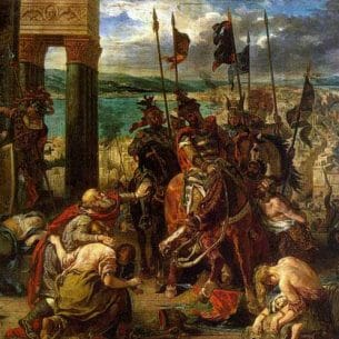 Delacroix, Eugene: The Entry of the Crusaders into Constantinople