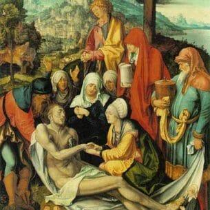 Durer, Albrecht: Lamentation for Christ Oil Painting Reproductions