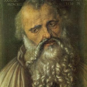 Durer, Albrecht: The Apostle Philip Oil Painting Reproductions