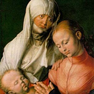 Durer, Albrecht: Saint Anne with the Virgin and Child Oil Painting Reproductions