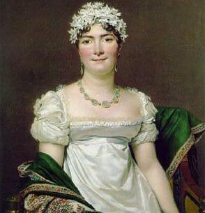David, Jacques-Louis: Portrait of Countess Daru Oil Painting Reproductions