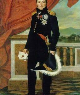 David, Jacques-Louis: General Gerard Oil Painting Reproductions