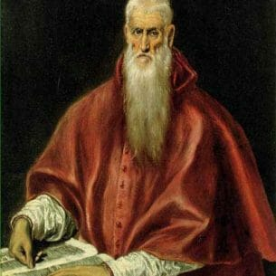 El Greco: St.Jerome Oil Painting Reproductions