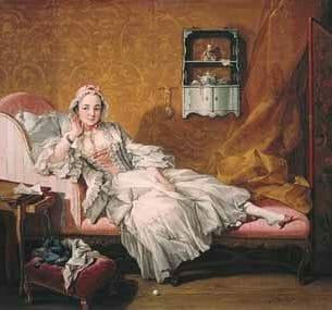 Boucher, Francois (France): Madame Boucher Oil Painting Reproductions