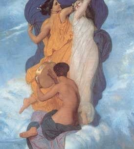 Bouguereau, William(France): The Dance Oil Painting Reproductions