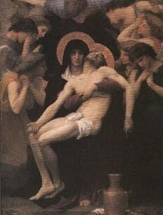 Bouguereau, William(France): Pieta