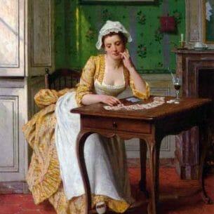 Caraud, Joseph(France): La reussite Oil Painting Reproductions