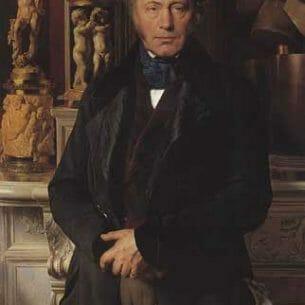 Delaroche, Paul (France): Portrait Oil Painting Reproductions
