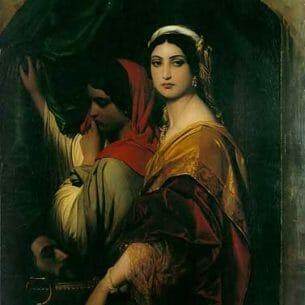 Delaroche, Paul(France): Herodias Oil Painting Reproductions