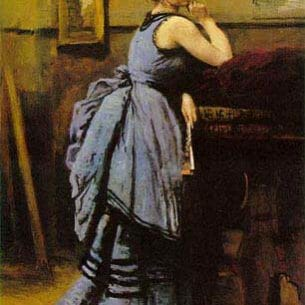 Corot, Jean-Baptiste-Camille: The Lady in Blue