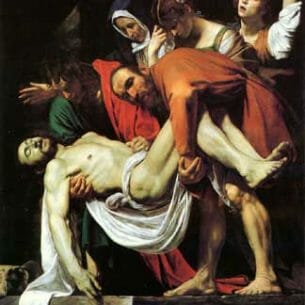 Caravaggio, Michelangelo Merisi da: The Deposition Oil Painting Reproductions