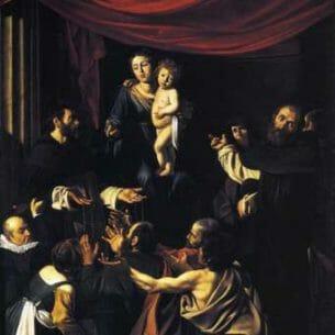 Caravaggio, Michelangelo Merisi da – Madonna of the Rosary