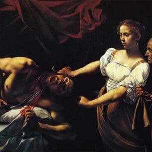 Caravaggio, Michelangelo Merisi da – Judith Beheading Holofernes Oil Painting Reproductions