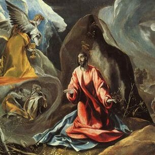 El Greco – Agony in the Garden Oil Painting Reproductions