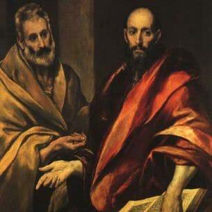 El Greco – Apostles Peter and Paul