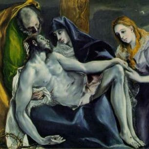 El Greco – Pieta Oil Painting Reproductions