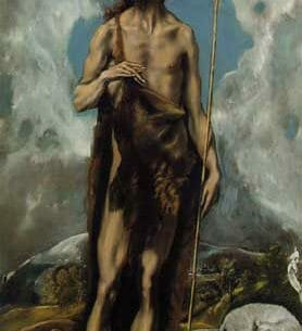 El Greco – St. John the Baptist Oil Painting Reproductions
