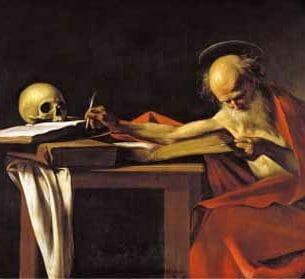 Caravaggio, Michelangelo Merisi da – St. Jerome