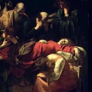 Caravaggio, Michelangelo Merisi da – The Death of the Virgin Oil Painting Reproductions