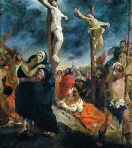 Delacroix, Eugene – Crucifixion Oil Painting Reproductions