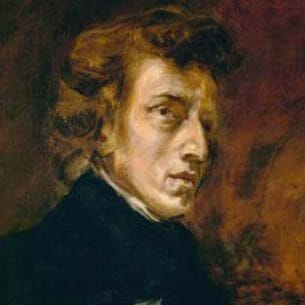 Delacroix, Eugene – Frederic Chopin (1809-1849), Polish-French Composer Oil Painting Reproductions