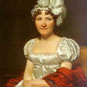 David, Jacques-Louis – MADAME DAVID Oil Painting Reproductions