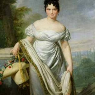 David, Jacques-Louis – Madame Tallien Oil Painting Reproductions