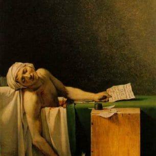 David, Jacques-Louis – Marat Assassinated Oil Painting Reproductions