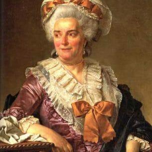David, Jacques-Louis – Portrait of Genevi Oil Painting Reproductions
