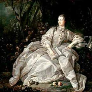 Boucher, Francois – Madame De Pompadour Oil Painting Reproductions