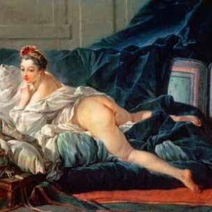 Boucher, Francois – Odalisque Oil Painting Reproductions