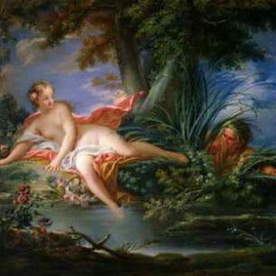 Boucher, Francois – The Bather Surprised