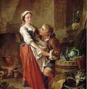 Boucher, Francois – The Beautiful Kitchen Maid