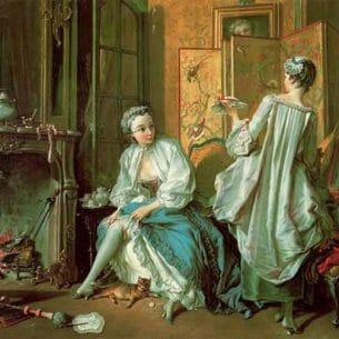 Boucher, Francois – The Toilette Oil Painting Reproductions