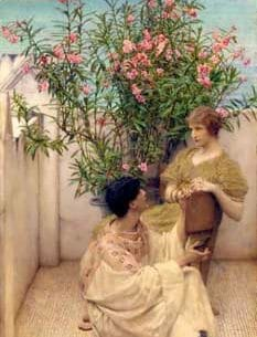 Alma-Tadema, Sir Lawrence: Courtship Oil Painting Reproductions