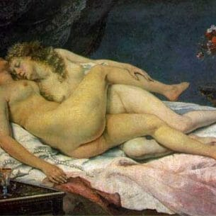 Courbet, Gustave(France): The Sleepers Oil Painting Reproductions