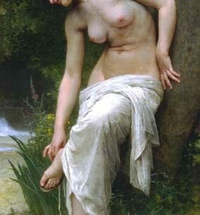 Bouguereau, William(France): After the Bath Oil Painting Reproductions
