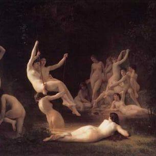 Bouguereau, William(France): The Nymphaeum