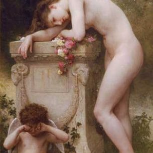 Bouguereau, William(France): Elegy Oil Painting Reproductions