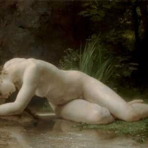 Bouguereau, William(France): Biblis Oil Painting Reproductions
