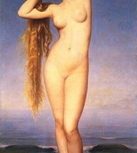 Amaury-Duval [Pineu-Duval], Eugene-Emmanuel: The Birth of Venus Oil Painting Reproductions