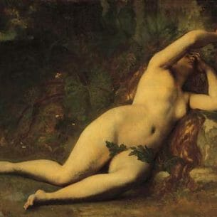 Cabanel, Alexandre: Eve After the Fall Oil Painting Reproductions