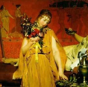 Alma-Tadema, Sir Lawrence: Between Hope and Fear