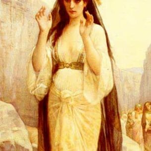 Cabanel, Alexandre: The Daughter Of Jephthah Oil Painting Reproductions